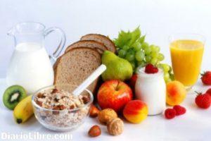 recuperación con dieta