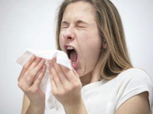 estornudos continuos