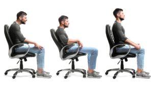 mala postura al sentarse